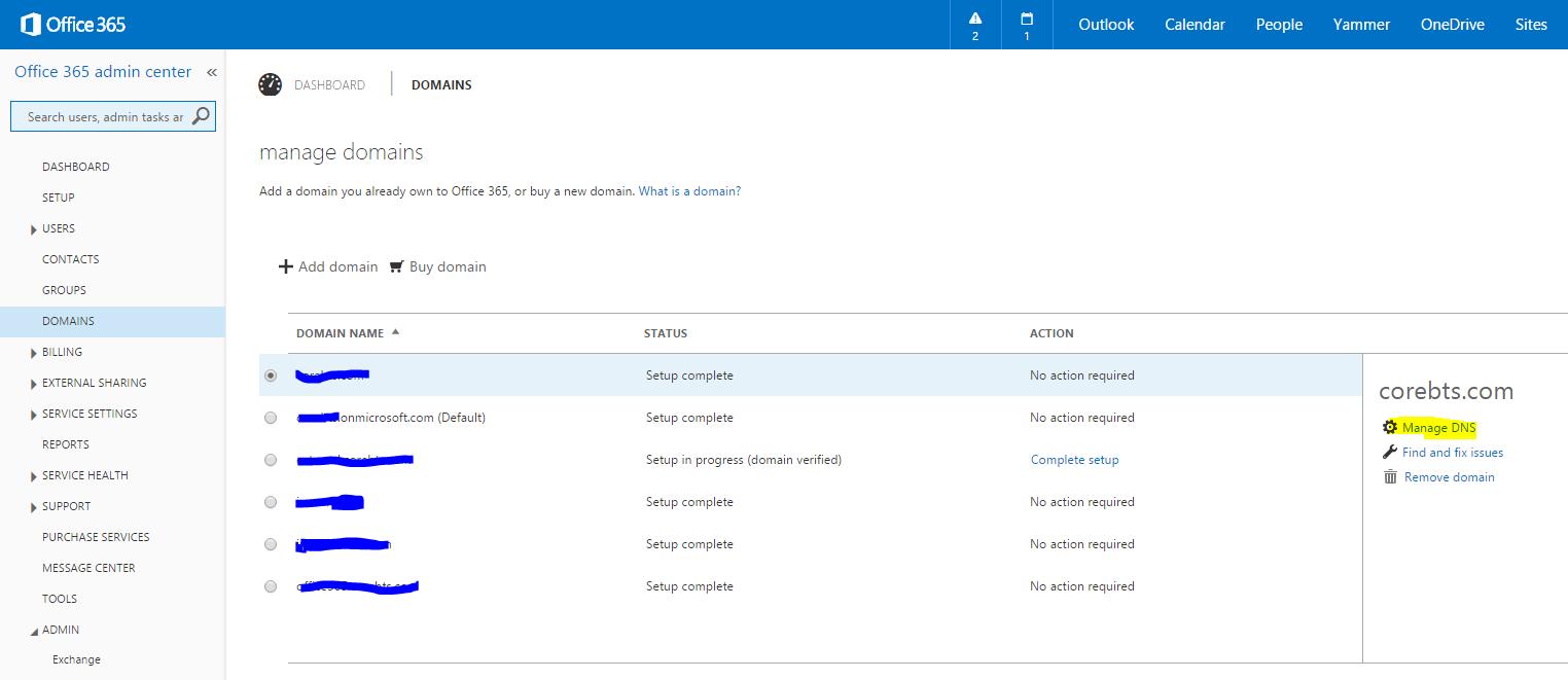 Office 365 SMTP No SSL TLS Option